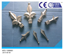Aluminum or iron fence spear