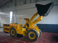 Good quality Underground loader 1m3/ 1cbm bucket mining wheel loader 2T made in china