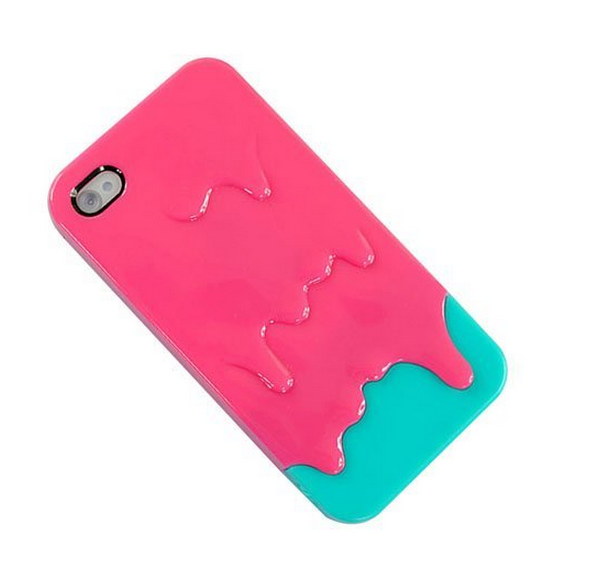 3d phone case for iphone 4 3d Melt Ice cream Skin Hard Case Cover for Apple iPhone 4 and 4s Protect Cell