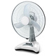 rechargeable 14'' battery operated fan led light with white color fan