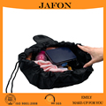 Wholesale leather cosmetic makeup bag waterproof professional makeup travel bag large capacity pouch