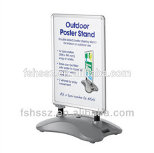 2016 most popular Water Base A1 Poster Board Banner Stand