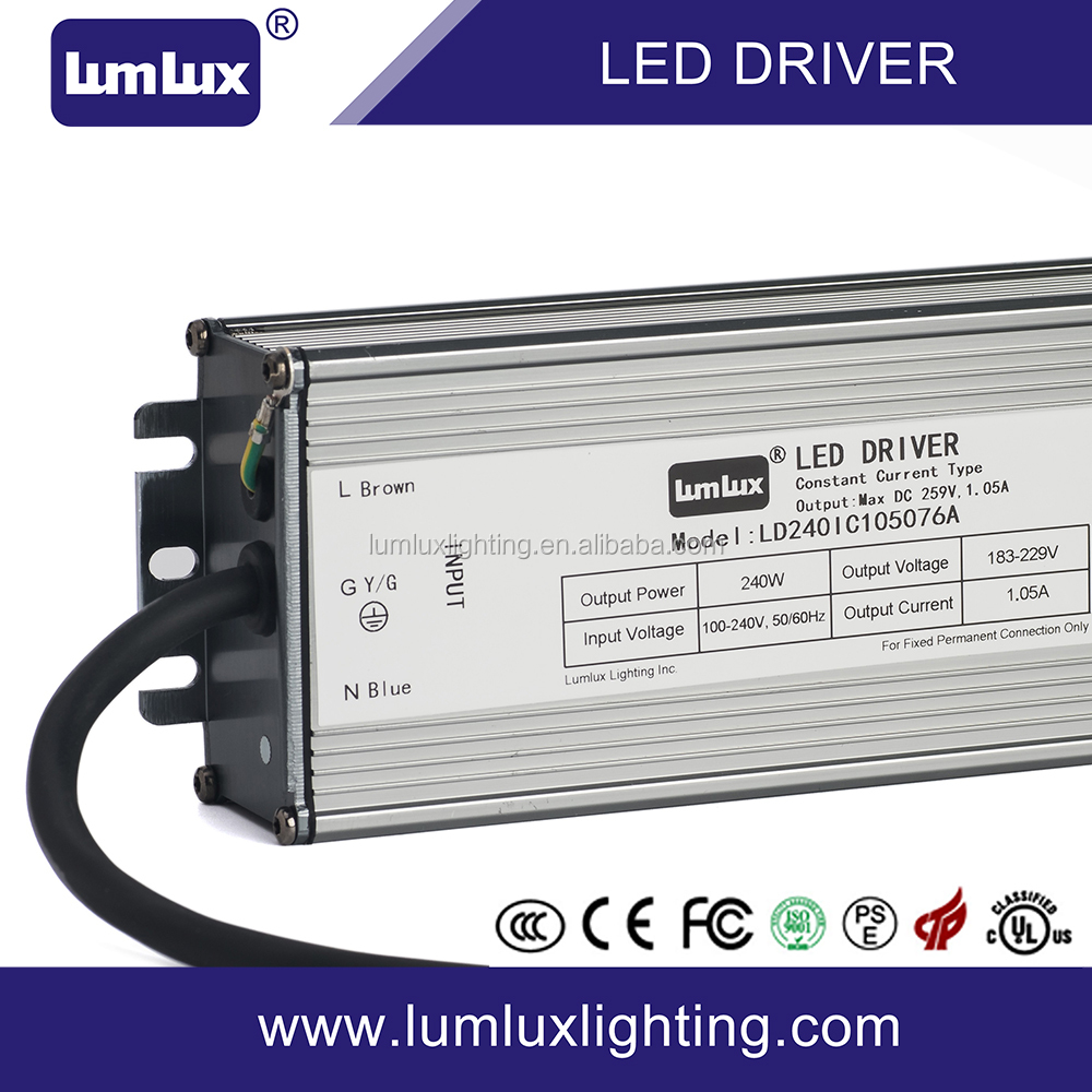 240W waterproof IP67 switching led driver