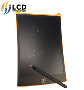 Megnetic 6 colors 8.5 inch writing tablet memo pad 4.5 lcd graphic 12 screen stylus board