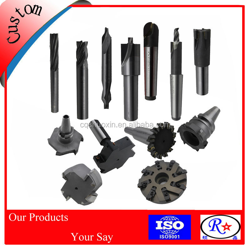 Cylinder Head Cutting Tools Special Milling Cutters