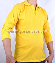 2015 newly design men's long sleeve polo shirts,fashionable & warm