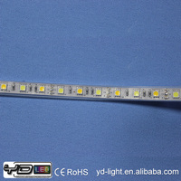 Factory price waterproof jacket rgb 60leds/m smd5050 led flexible light dual color