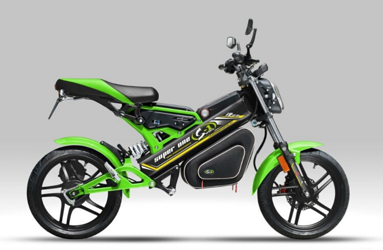 2017 New Green Mini CE Environment Friendly Outdoor Alloy Frame Folding Electric Motorcycle
