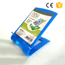 Newest design high quality beautiful customized plastic cell phone stand smart cell phone holder and mobile phone stand