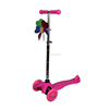 Height Adjustable Mini Kick Scooter for Age 3-6 Children