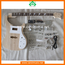 BK015 Brand name electric bass guitar kit neck