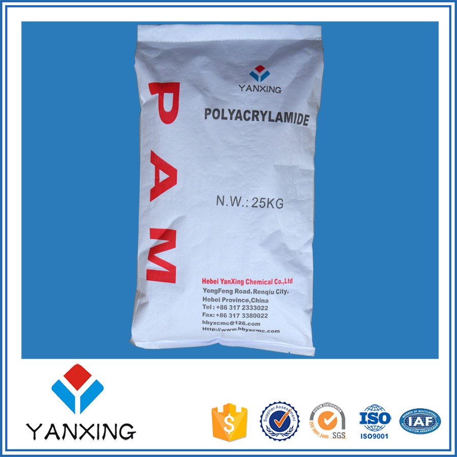 oil drilling chemical polyacrylamide / PAM / China factory price/ for oil drilling fluids