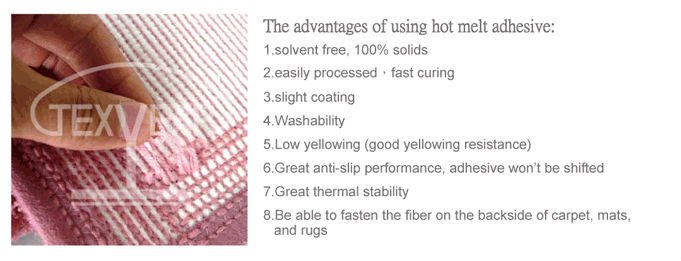 Anti-slip Carpet Hot Melt Adhesive (for carpets, mats, rugs)
