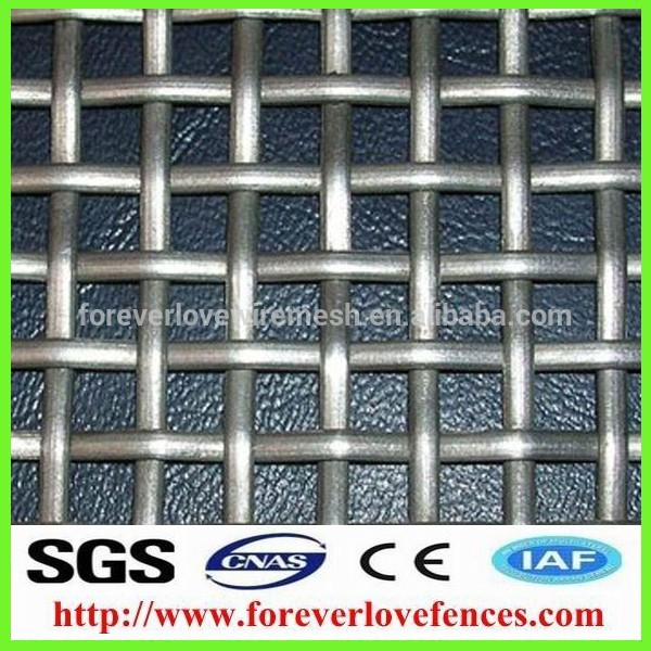 hot/cold gavanized aluminum alloy/ alluminum crimped wire mesh used for filtering (anping factory) mesh}