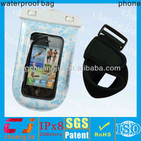 Cute pvc waterproof diving cover bag for samsung galaxy s3