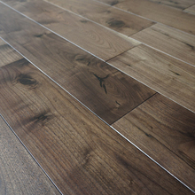 Highly Fire Resistant Asian Hardwood Walnut Wood Flooring
