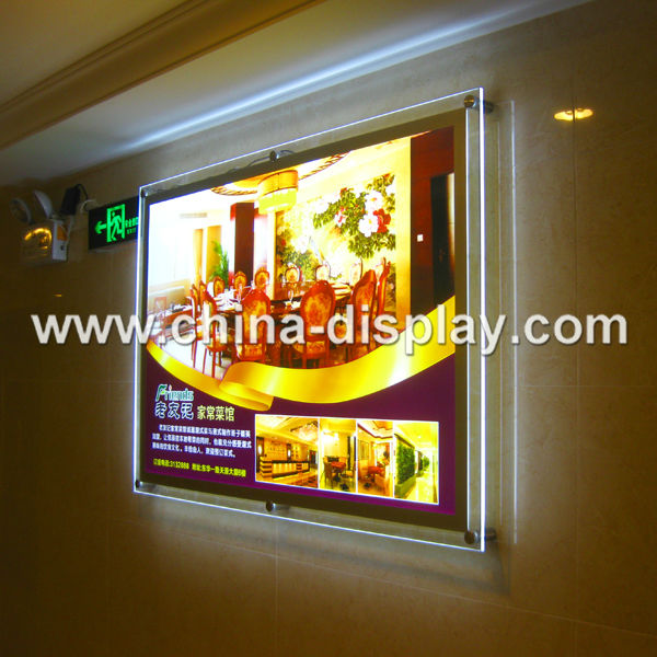 Acrylic Display LED advertising equipment