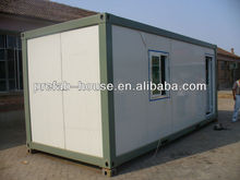 Flexible design 3M*6M CE&ISO&SGS container house with steel structure