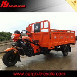 motor tricycle for cargo/heavy duty 3 wheel motorcycle/gas motor trikes