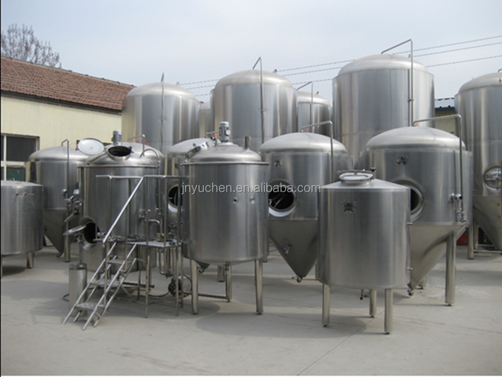 JINAN RAINBOW MACHINERY 2000L factory beer brewery equipment