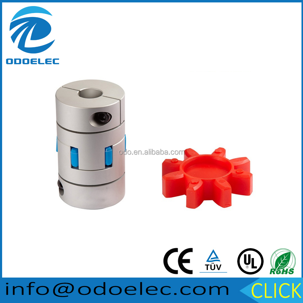 D30 L42 CNC Flexible Jaw Spider Plum Coupling Shaft Coupler 5/6/7/8/9/10/11/12/14/16
