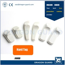 Top Quality EAS AM 58KHz clothing anti-theft deactivate security tags