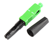 FTTH fiber optic fast connector, SC/APC fast connector ,SC/UPC Quick Field assembly fiber optic connector