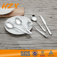 Alibaba China Best Price Stainless Steel Flatware Sets/Silver Cutlery