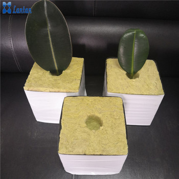Factory hot sales Agricultural planting Rock wool board cubes