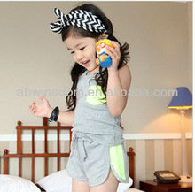 2013 NEW KOREAN FASHION CASUAL CHILDREN'S SETS D90915S