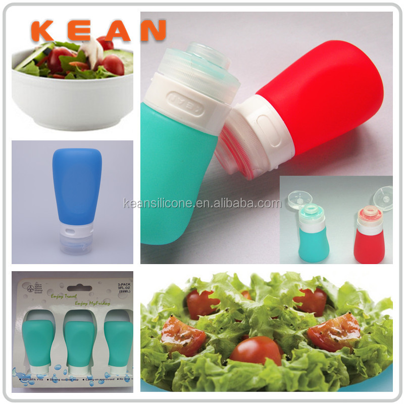 Butane Hash Oil Silicone Container/ Food Grade Silicone Hash Oil Bottle
