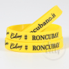 Custom Debossed Design Bulk Rubber Wristband