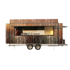 BAOJUFV-55New pedal electric food truck moble food cart fiberglass food trailer