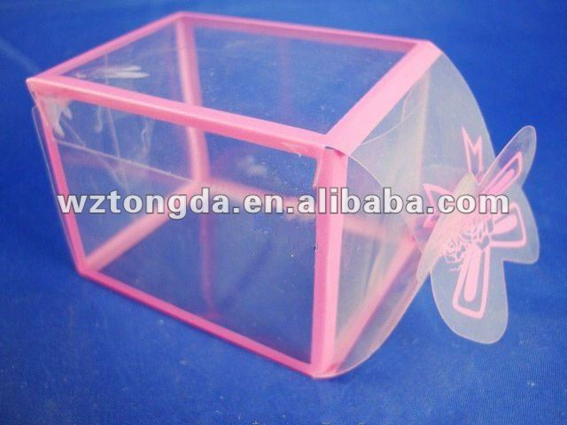 PVC Transparent Candy Plastic Case(WZ1952)