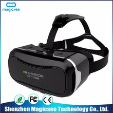 Best Brand high quality vr glasses and vr shinecon,vr box 3d glasses
