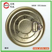 Tinplate Material and Seed,food Use vegetable seed packing #401(99mm) tin container easy open end