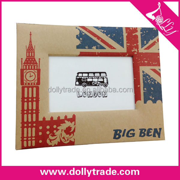 wholesale european style The union flag paper card photo picture frame