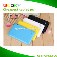 Factory wholesale 7 inch A23 Android 4.4 os Tablet pc very cheap support calling