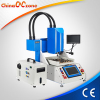 For Iphone ID card unlock CUP, HHD, WIFI, FONT chips replace IC Grinding Machine