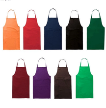 Waterproof Leather PVC hairdresser apron with pockets