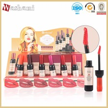 Washami waterproof red wine long lasting lip gloss