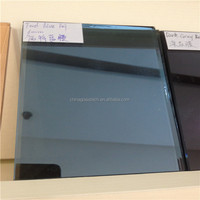 tempered untempered colored coating glass for commercial buiding for table top