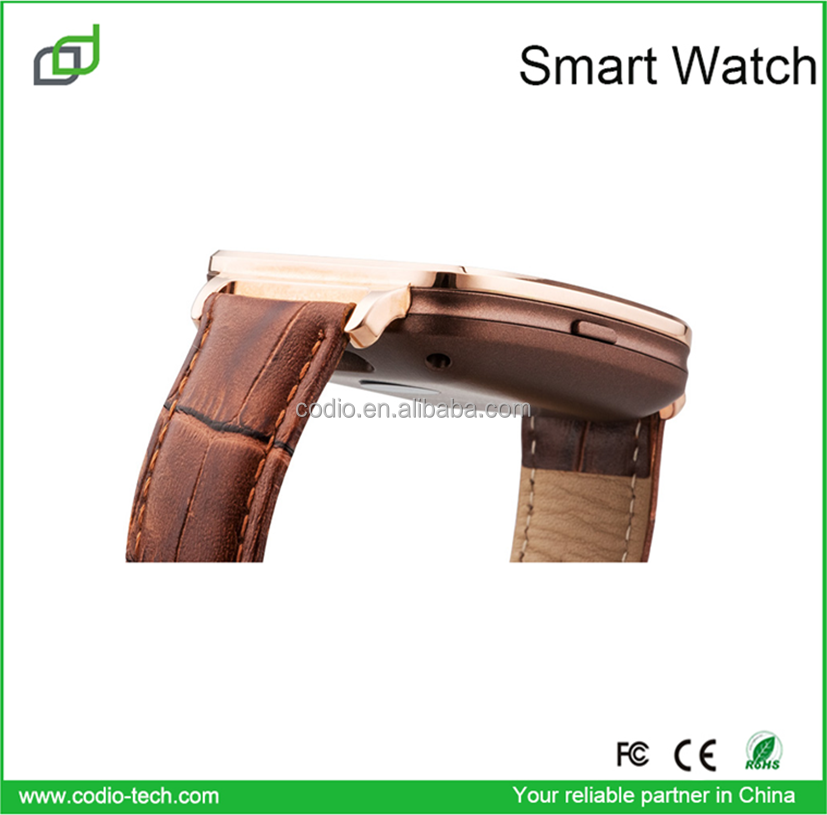 for all mobile phones men fashion MTK2502 ios smart watch