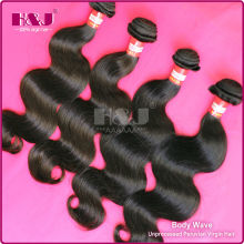 H&J Wholesale Factory Price 6A Grade 100% Virgin Peruvian Hair Reviews