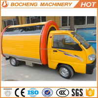 factory price electric food truck