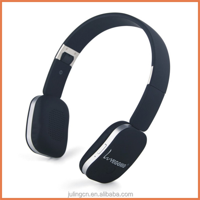 China bulk sale mp3 headphone wireless earphone with speaker.