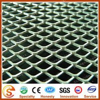 Alibaba China factory Diamond wire mesh Expanded Metal Walkway Mesh