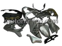 For Kawasaki zx9r fairings 00-01 Motorcycle racing fairings/Bodywork sets ABS bodykits silver/black