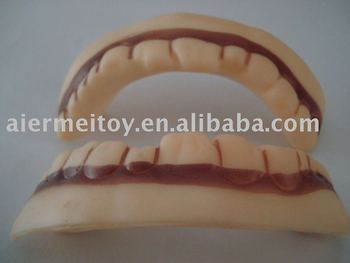 Vinyl Halloween Vampire Teeth Health