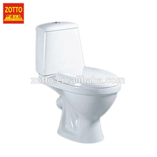 Optimal choice round p-trap s-trap modern wc two piece washdown ceramic toliet toilet pots made in China
